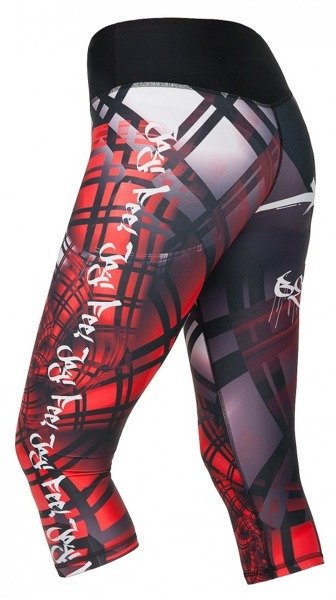 0a79746060b809 Spodnie 3/4 Fitness Sport Legginsy FeelJ Energy